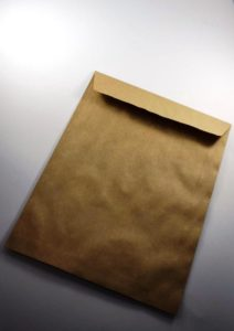 ENVELOPE KRAFT NATURAL 185X248