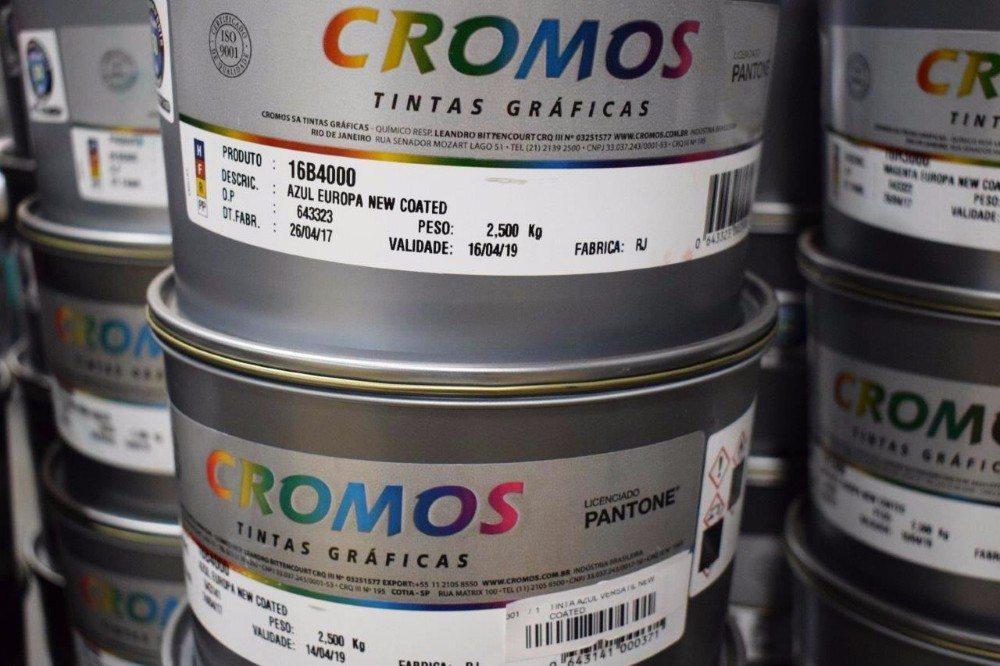 TINTA OFF SET CROMOS NEW COATED