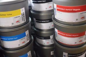 TINTA OFF SET HOSTMANN RAPIDA